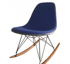 Blue RKR rocking chair, EAMES - 1970s