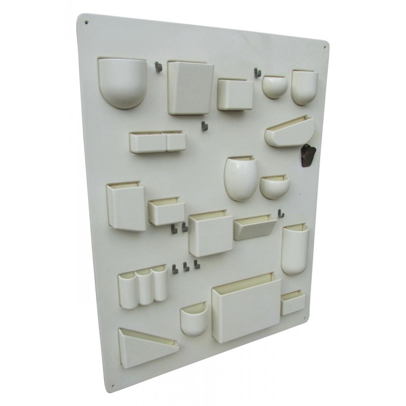 Finest wall hanging system in plastic dorothee becker and ingo mauer s with vide poche mural design - Vide poche mural salle de bain ...