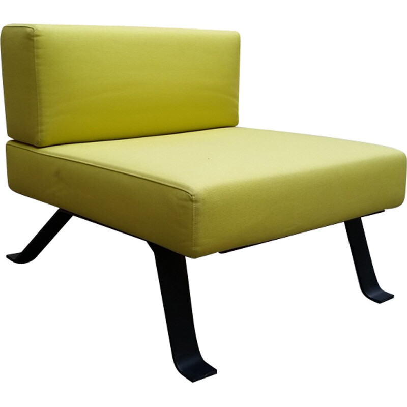 Vintage low chair Model Ombra by Charlotte Perriand