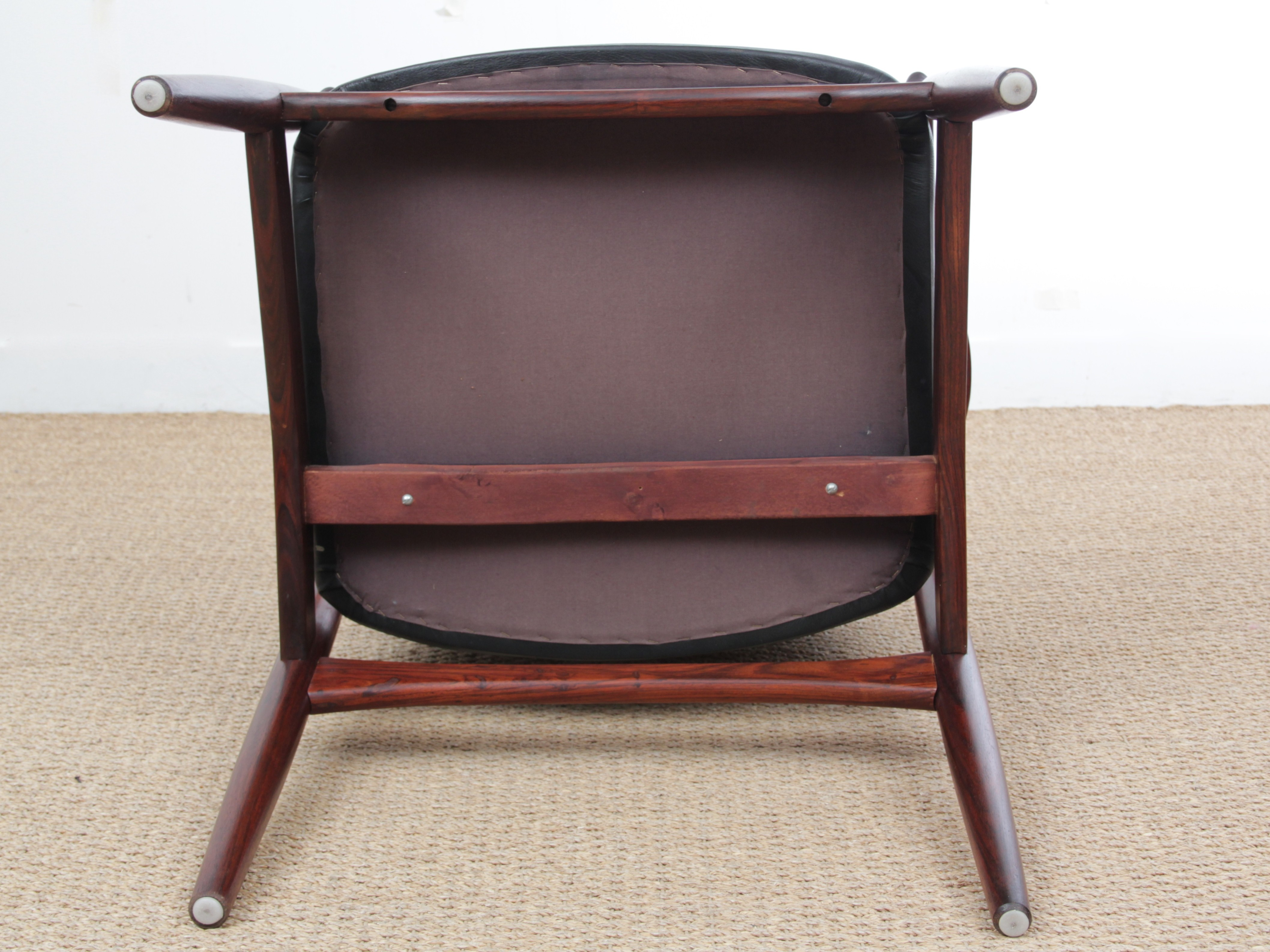 Scandinavian Armchair made of Rio Rosewood Model 66 - 1950s - Design ...