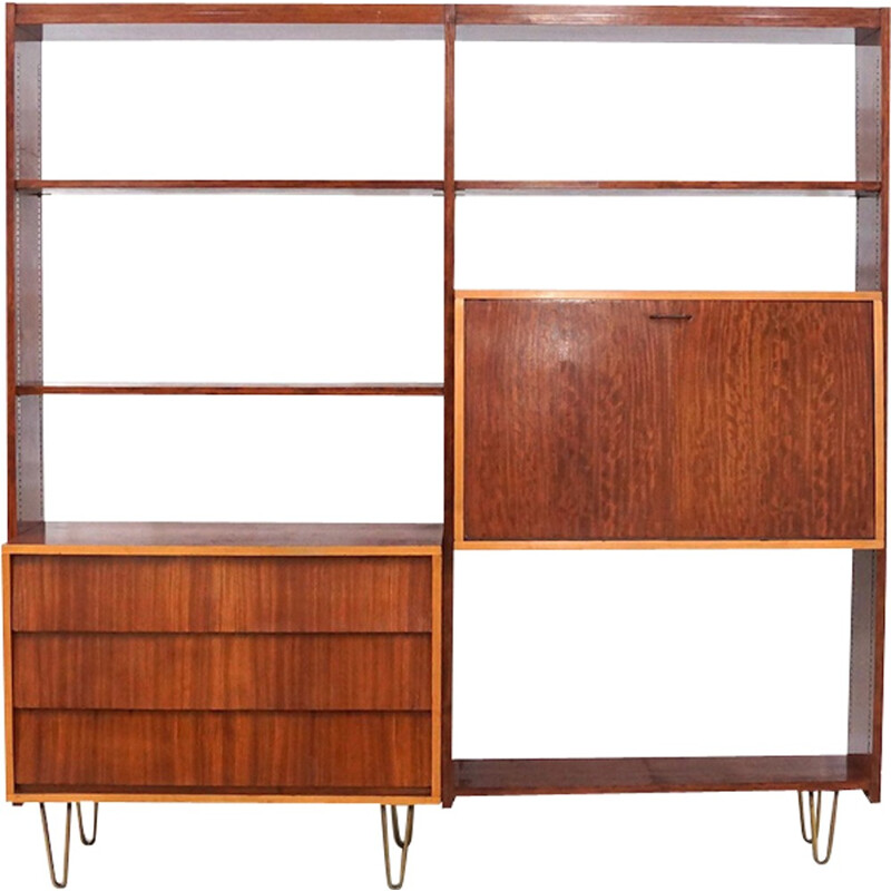 Vintage wall Unit by Alfred Hendrickx for Belform - 1950s