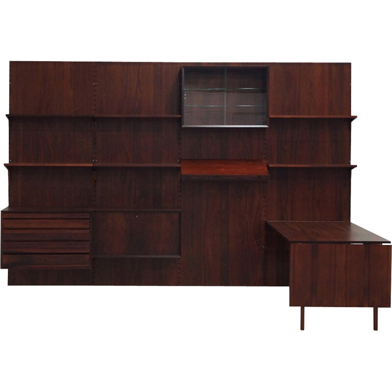 Modular Wall Unit in Rosewood by Poul Cadovius for Cado - 1950s