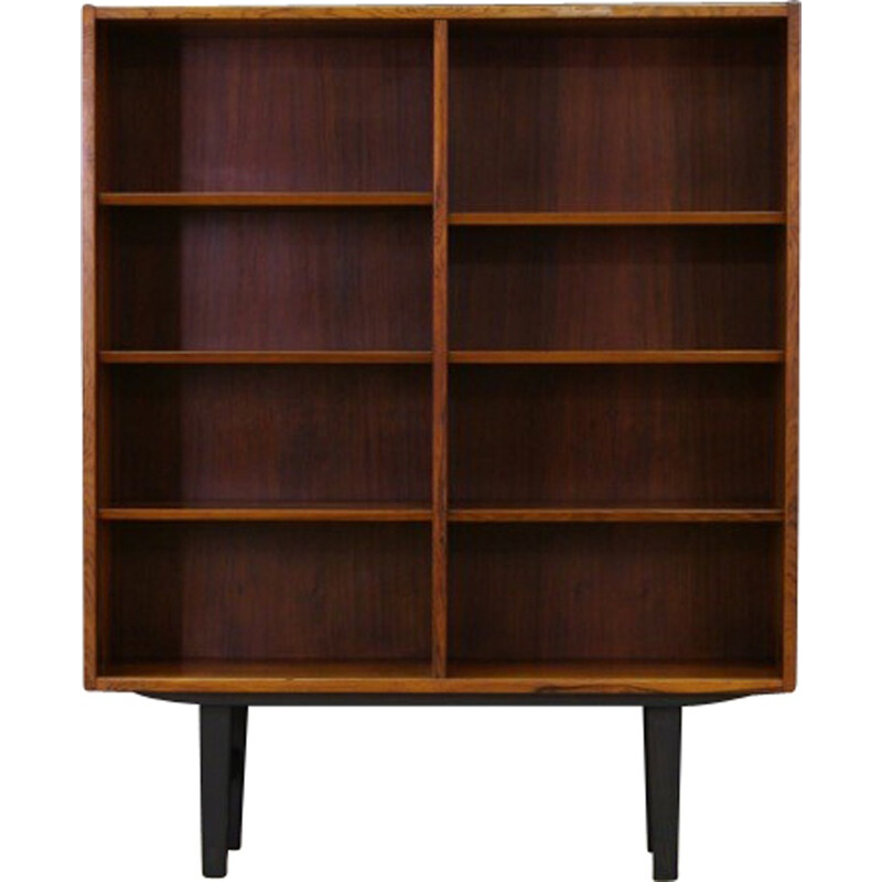 Vintage bookcase in rosewood by Poul Hundevad - 1960s
