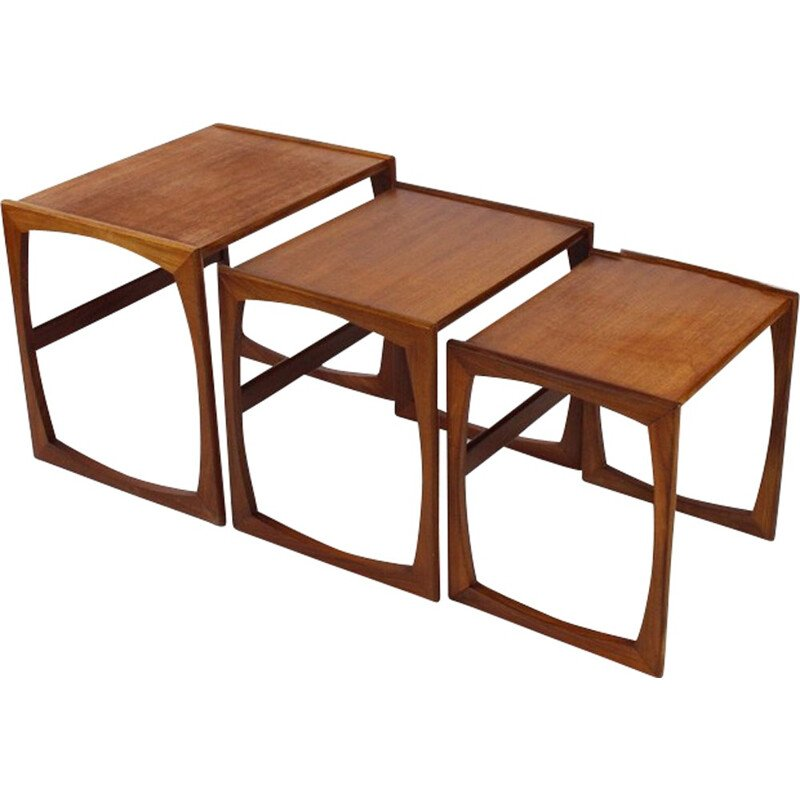 Vintage nesting tables by G Plan - 1960s