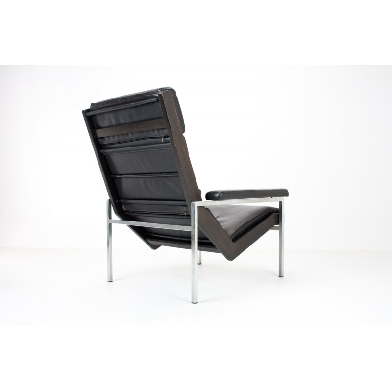 Fabulous Lotus Lounge Chair In Leather And Metal Rob Parry 1960S Pdpeps Interior Chair Design Pdpepsorg