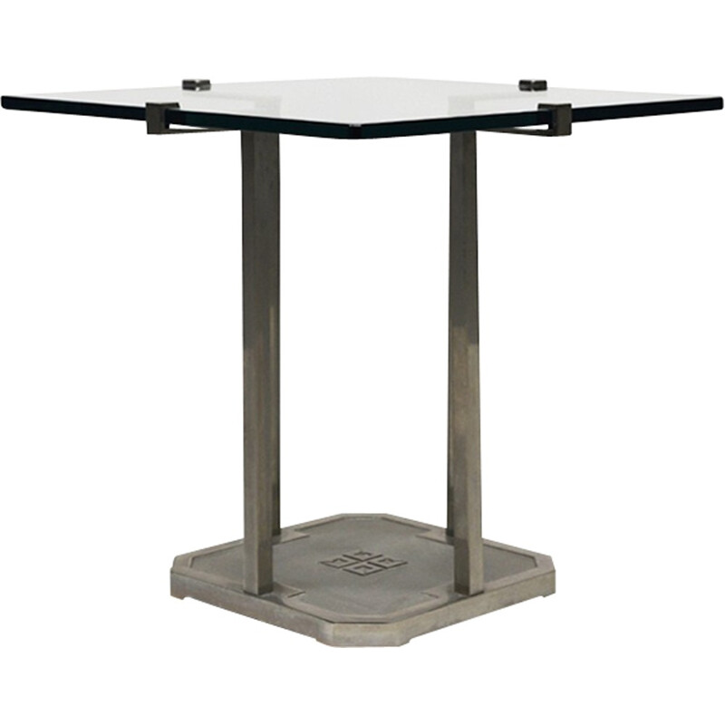 """Vintage """"Pioneer T18""""  side table by Peter Ghyczy - 1970s"""