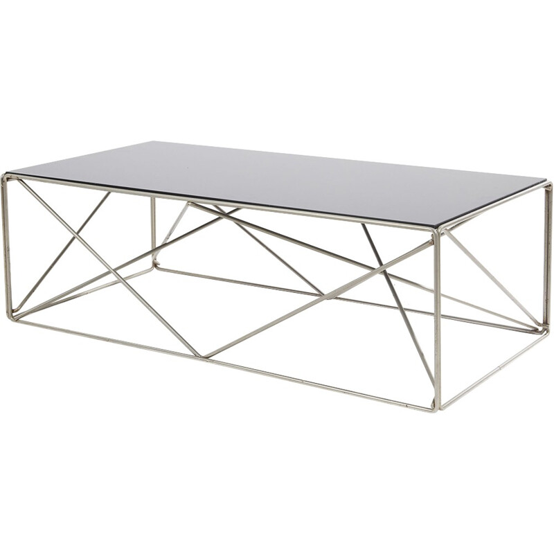 Vintage Isosceles Coffee Table by Max Sauze - 1970s
