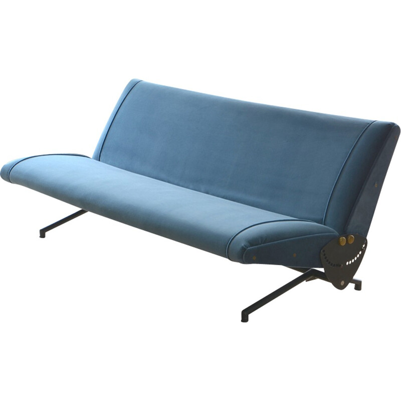 Vintage D70 sofa by Osvaldo Borsani for Tecno - 1950s