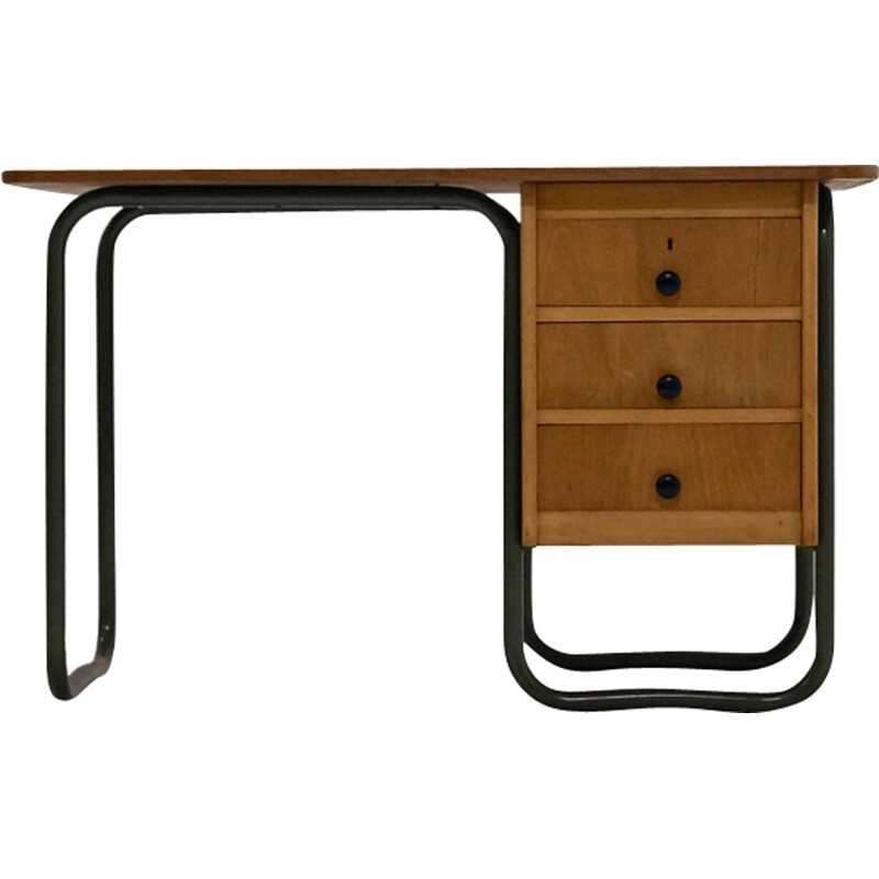 Vintage German Tubular Desk - 1950s