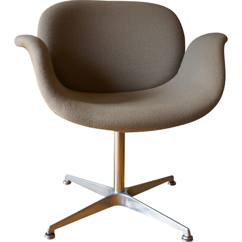 Vintage Little Tulip Armchair F163 by Pierre Paulin - 1960s