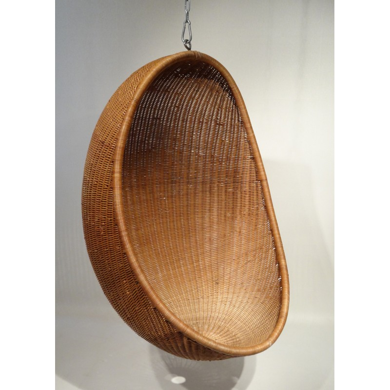 """Egg chair"" hanging chair, Nanna DITZEL - 1959 - Design Market"
