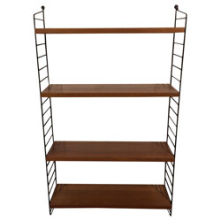 Bookcase with 4 tight shelves, Nisse STRINNING - 1960s