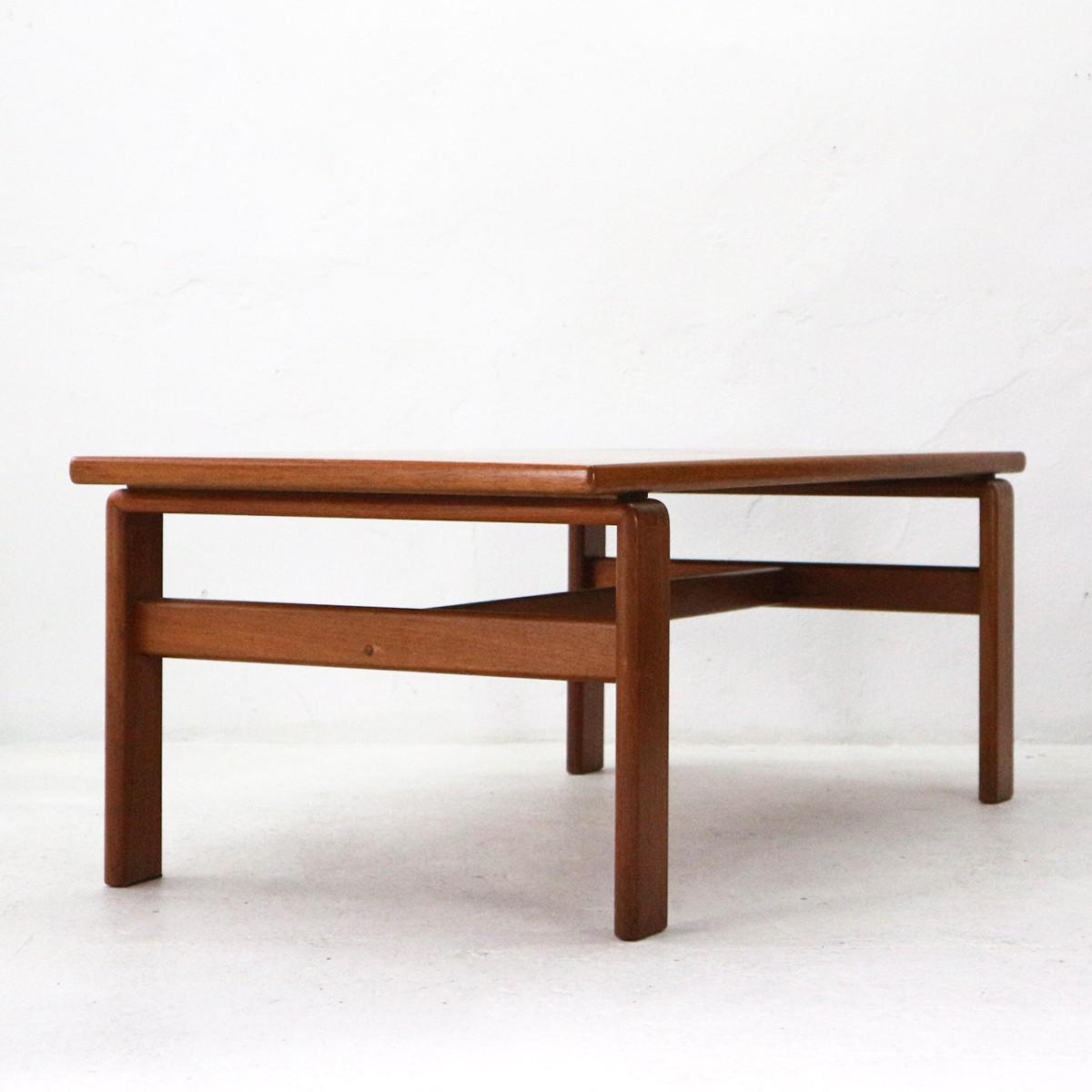 Vintage Danish Teak Coffee Table - 1970s - Design Market