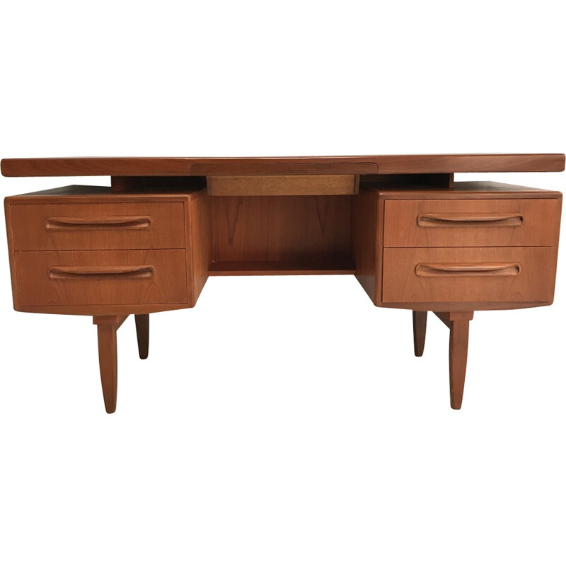 Vintage teak desk by V.Wilkins for G-Plan - 1960s