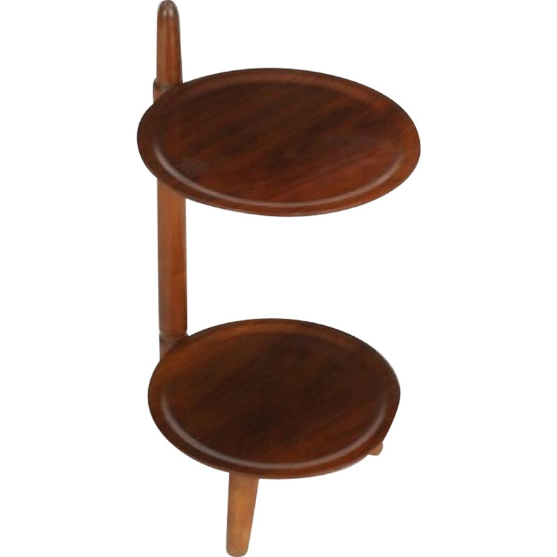 Vintage Danish high shelf in teak - 1950s