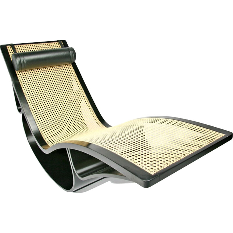 "Vintage ""Rio"" Chaise Longue by Oscar Niemeyer - 1990s"