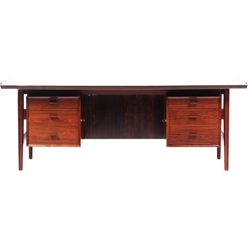 Vintage rosewood desk by Arne Vodder for Sibast Furniture - 1960s