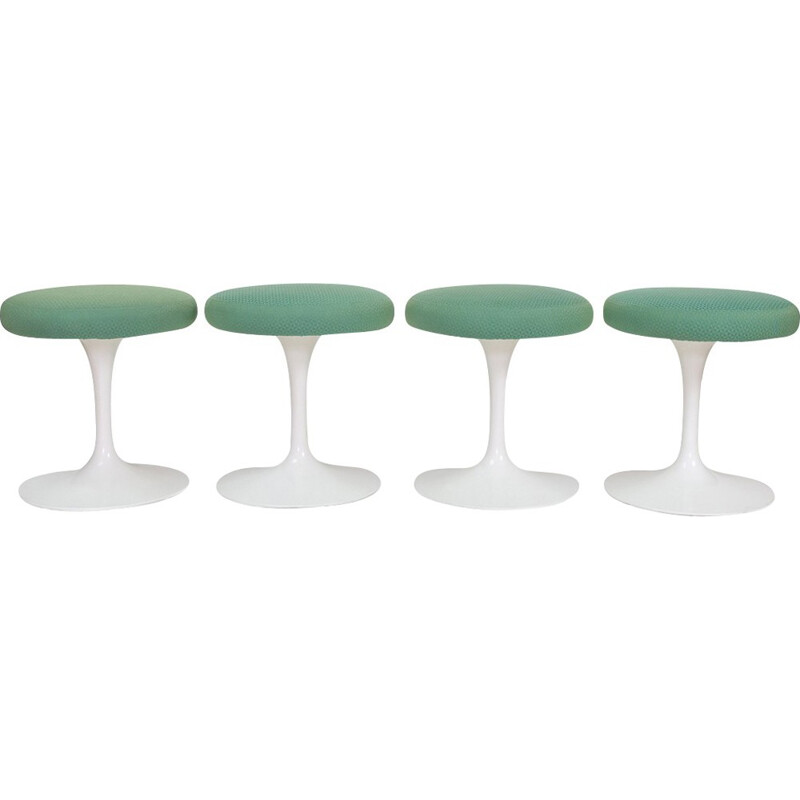 Set of 4 Vintage Stools by Eero Saarinen for Knoll - 1960s