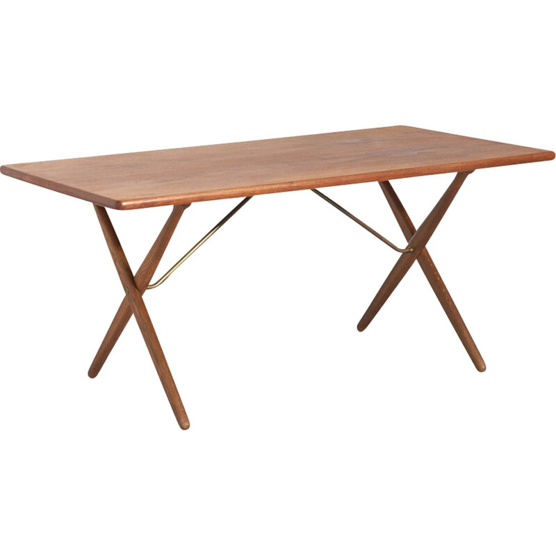 Vintage AT-303 Dining Table by Hans J. Wegner for Andreas Tuck - 1960s