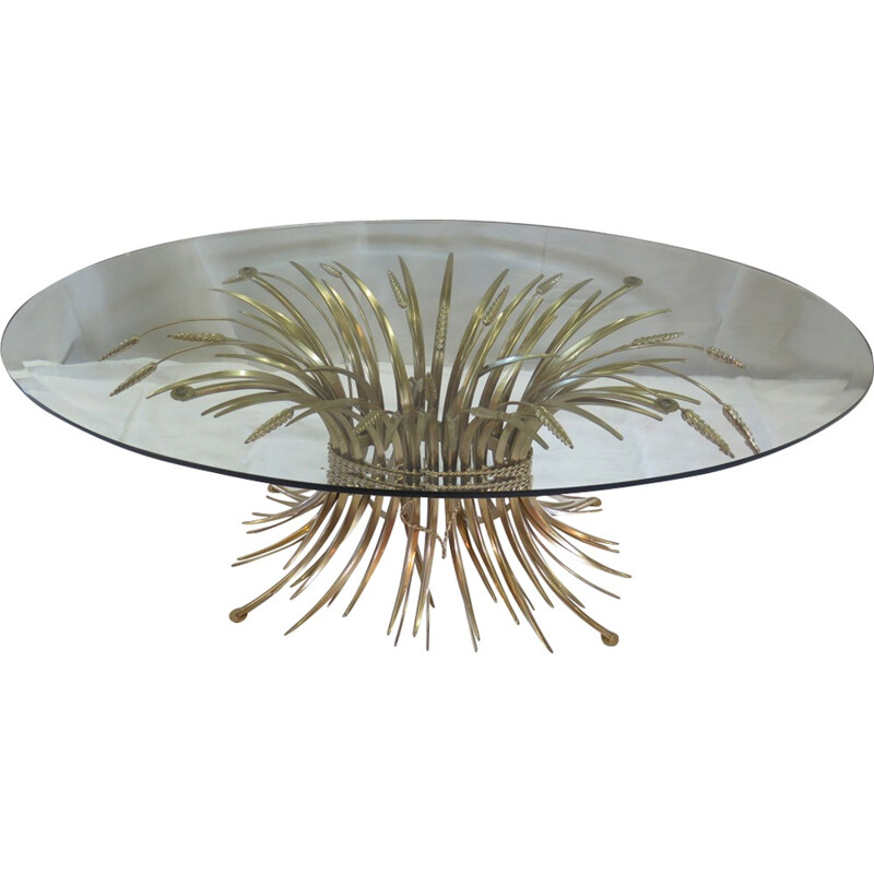 Vintage coffee table by Robert Goosens for Coco Chanel - 1970s