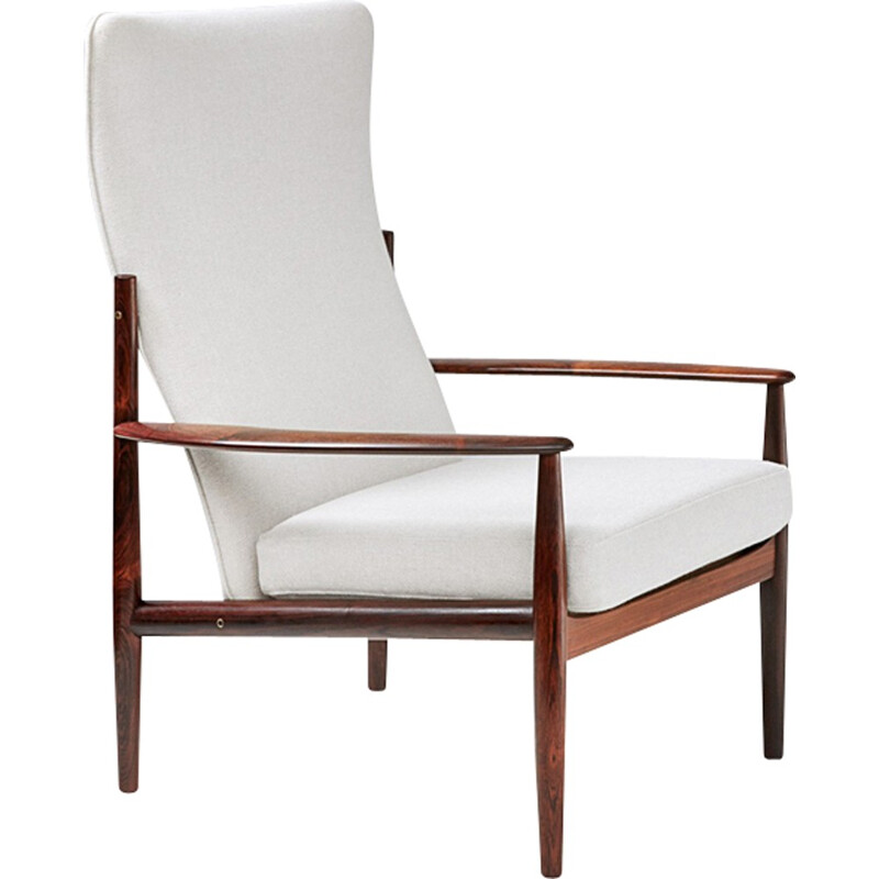 Vintage High Back Lounge Chair by Grete Jalk - 1960s