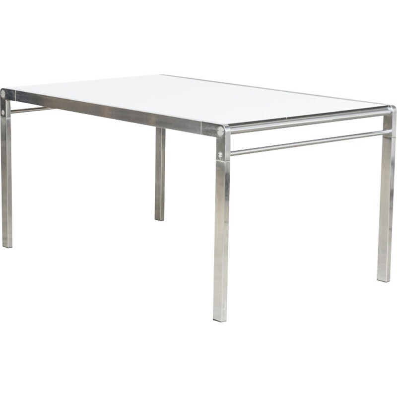 """Dining table """"TE 21"""" by Paul Ibens & Claire Bataille for T Spectrum - 1970s"""