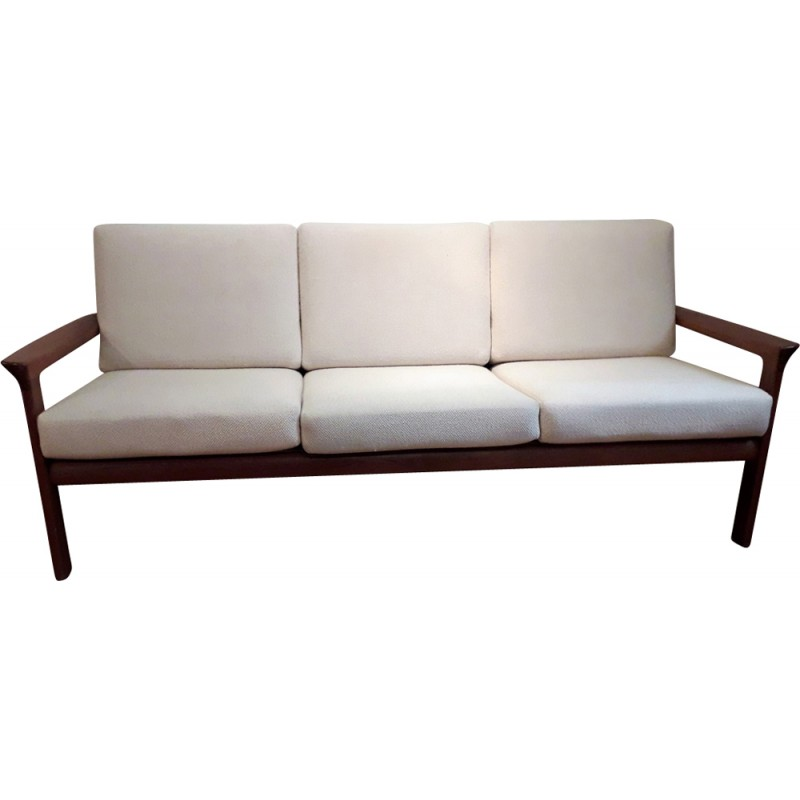 Cool Vintage Borneo 3 Seater Sofa In Solid Oak By Sven Ellekaer For Komfort 1960S Gmtry Best Dining Table And Chair Ideas Images Gmtryco