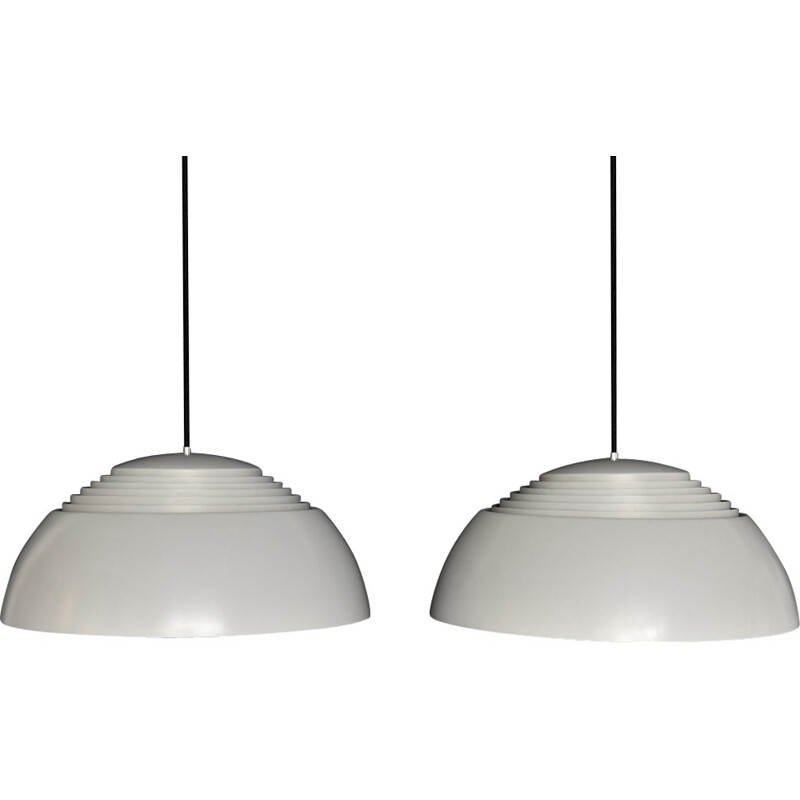 Set of two vintage AJ Royal lamps by Louis Poulsen for Arne Jacobsen, Denmark - 1960s
