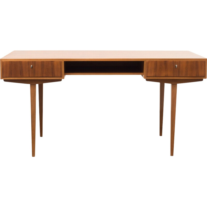 "Desk ""WK"" in walnut by WK Möbel - 1950s"
