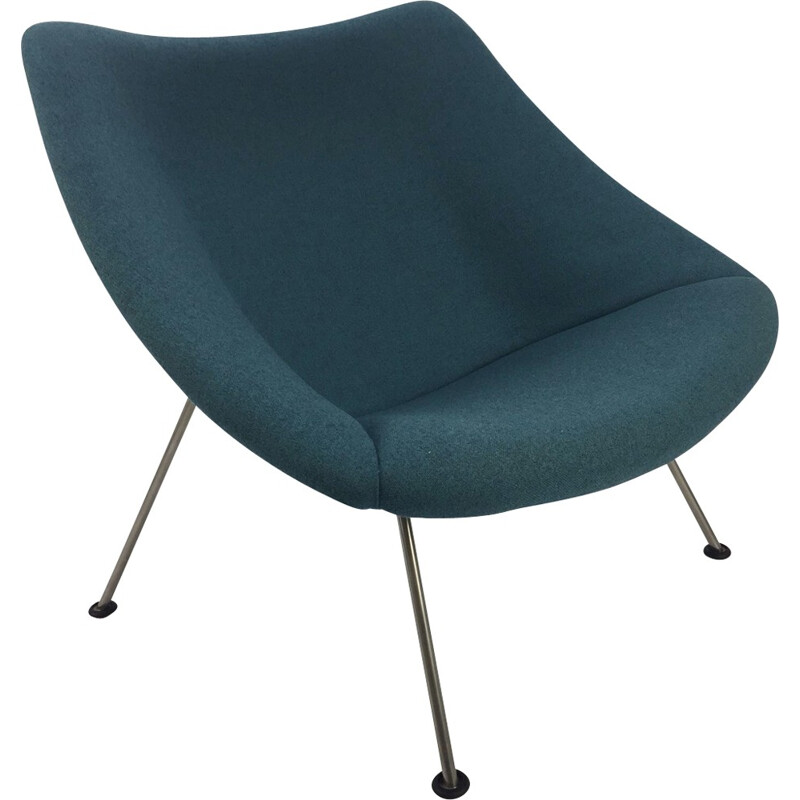 Vintage Oyster armchair by Pierre Paulin for Artifort - 1960s