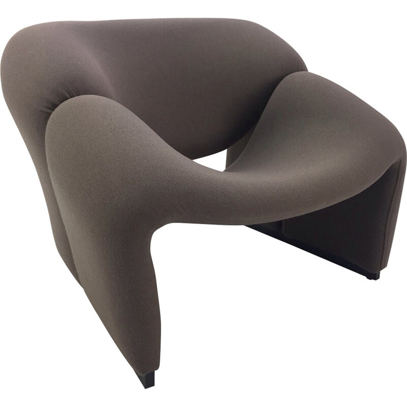 Vintage Groovy Chair F598 by Pierre Paulin for Artifort - 1970s