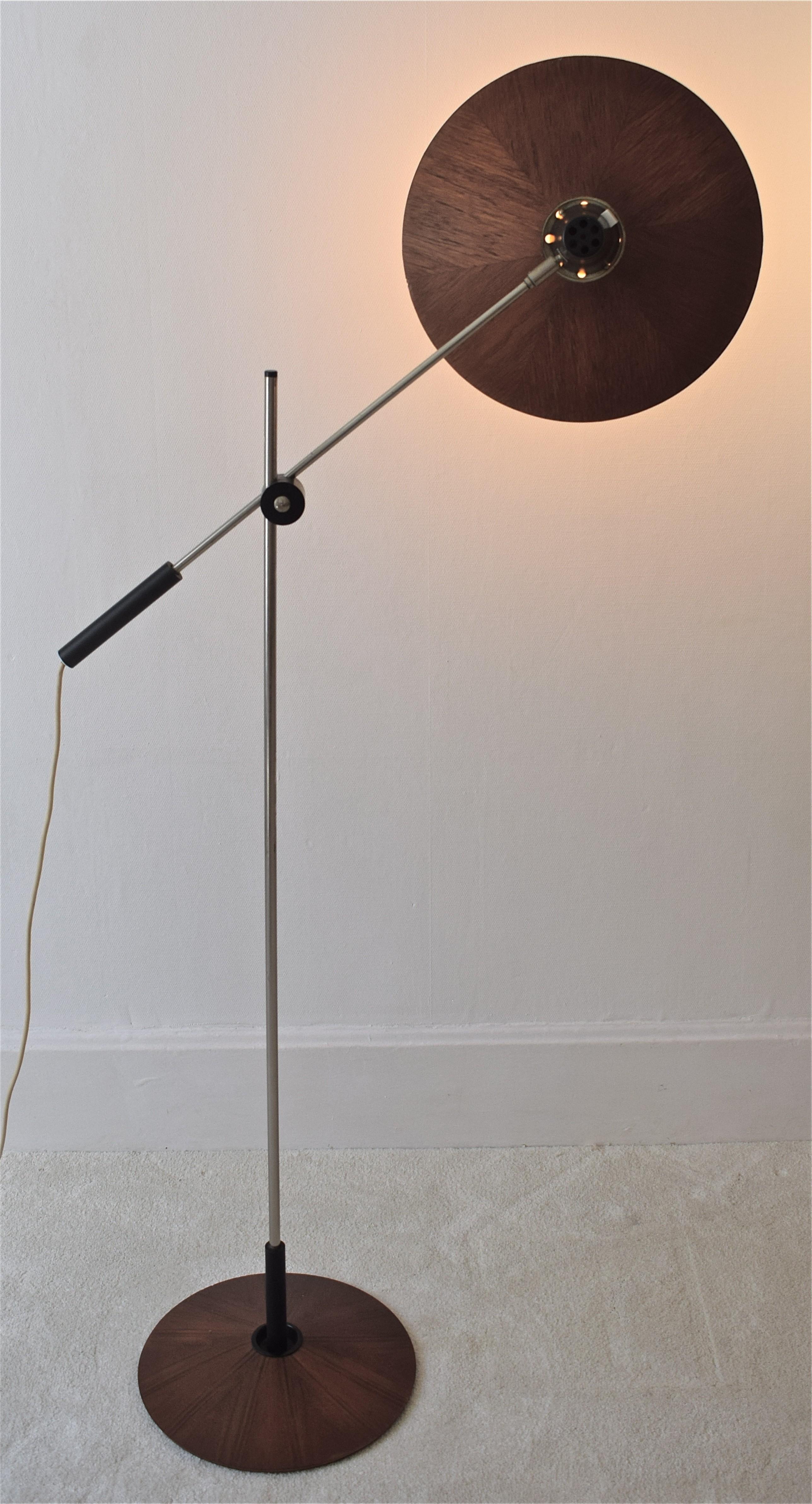 frydman floor lamp previous floors arm with georges swivel vintage next by