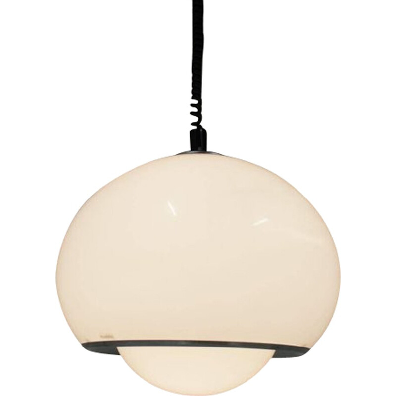 Vintage Pendant Lamp Designed by Harvey Guzzini - 1970s