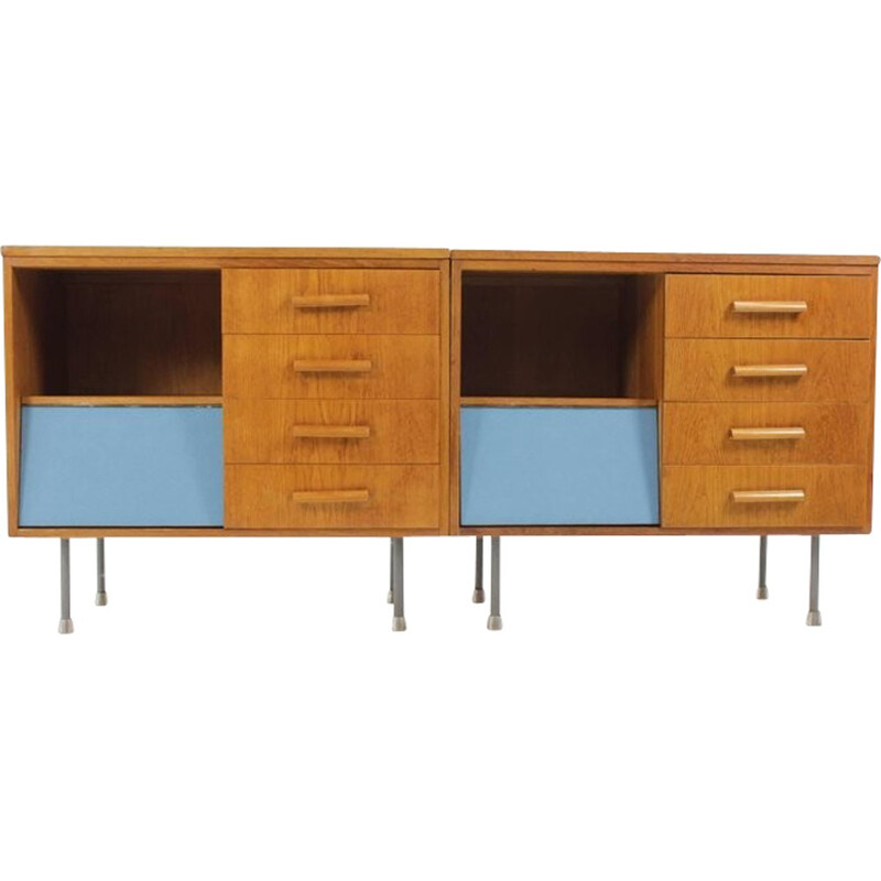 Set of Two Vintage Sideboards from Czech Republic - 1960s