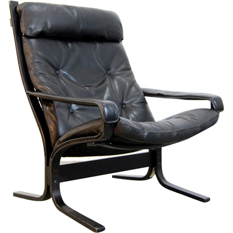 Scandinavian siësta lounge chair by Ingmar Relling for Westnofa - 1990s