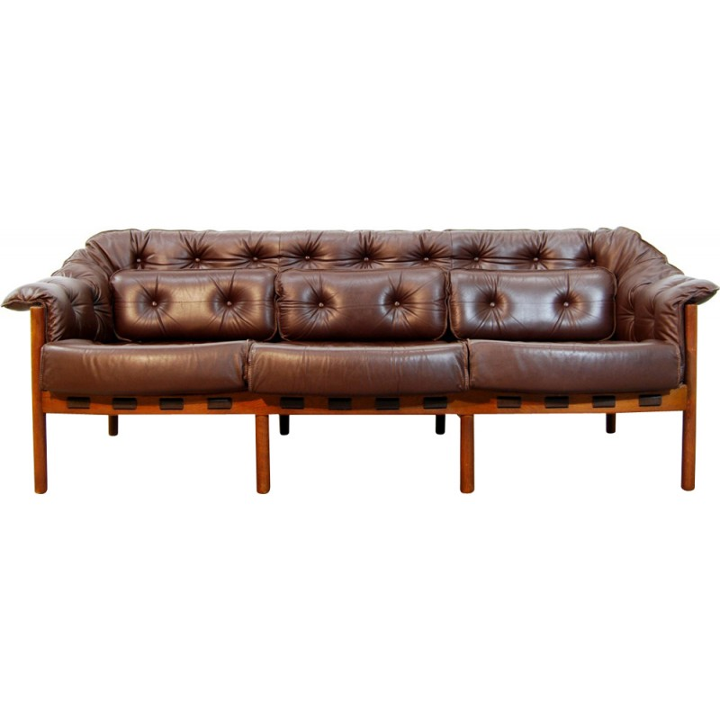 Vintage Swedish Sofa By Arne Norell For Coja 1960s