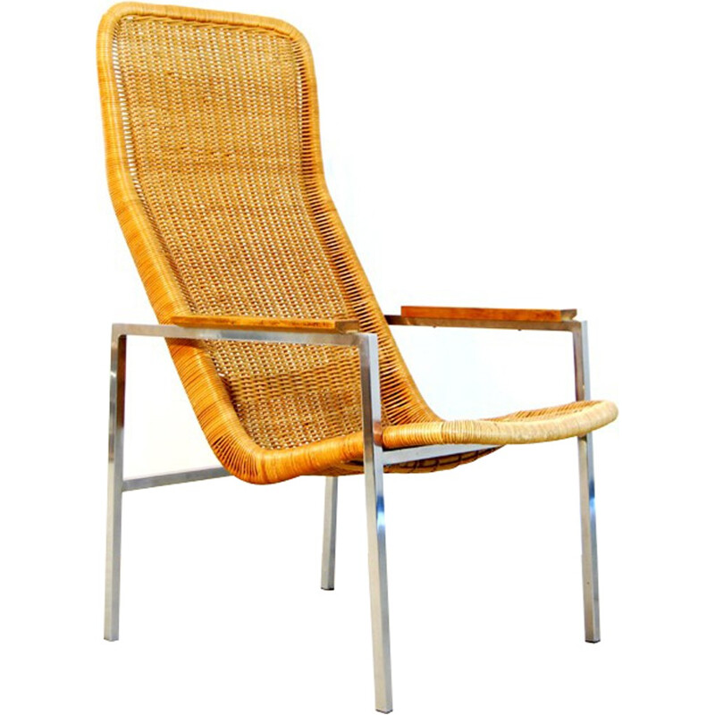 Dutch Easy Armchair by Dirk van Sliedregt for Gebroeders Jonkers - 1960s
