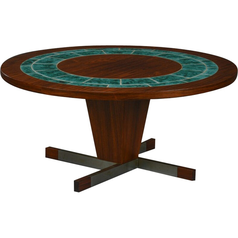 Vintage Rosewood Round table - 1960s
