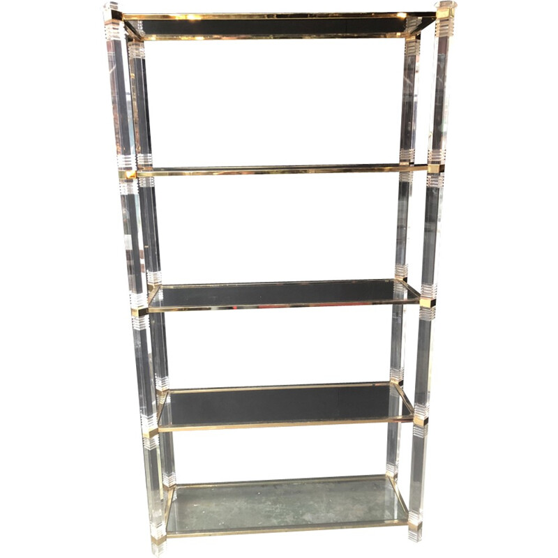 Vintage shelf with 5 levels in plexi - 1960s