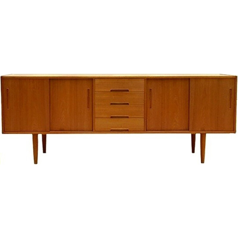 Vintage Swedish sideboard by Nils Jonsson for Troeds - 1960s