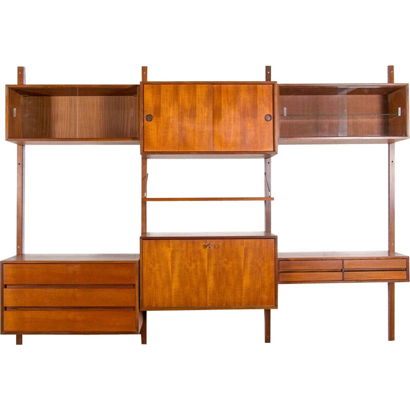 Vintage Wall unit by Poul Cadovius - 1960s