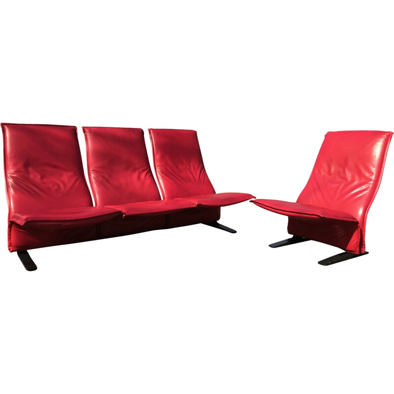 Living room set Concorde by Pierre Paulin for Artifort - 1960s