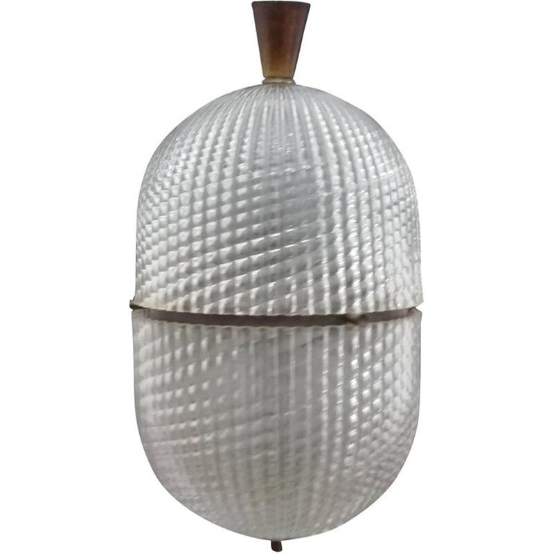 Vintage pendant light by Barovier & Toso - 1950s