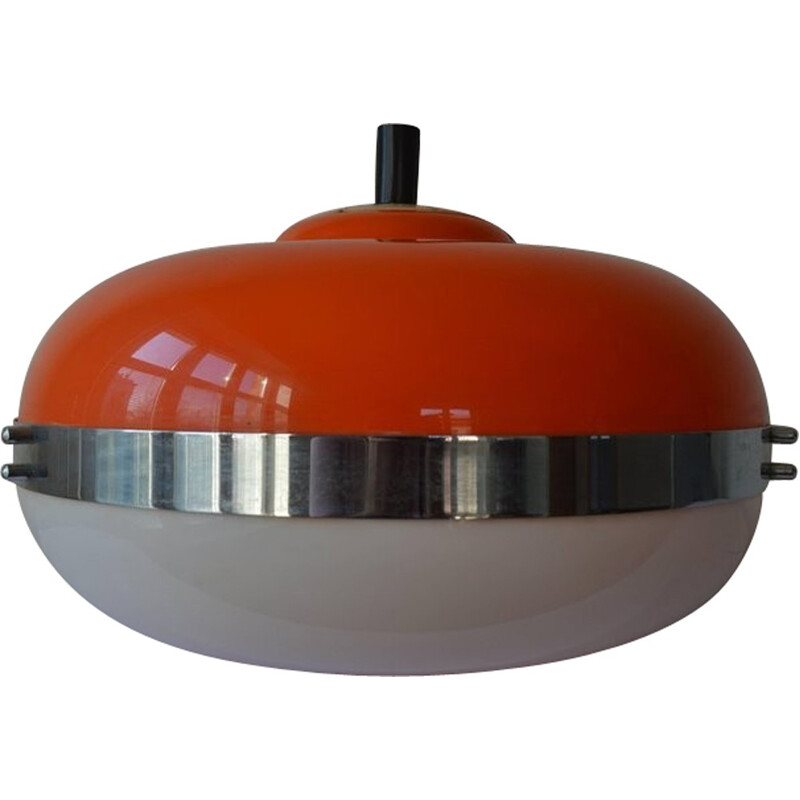 Vintage pendant light by Harvey Guzzini for UFO Meblo - 1970s