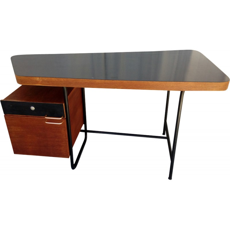 Vintage Office Desk By George Frydman 1950s