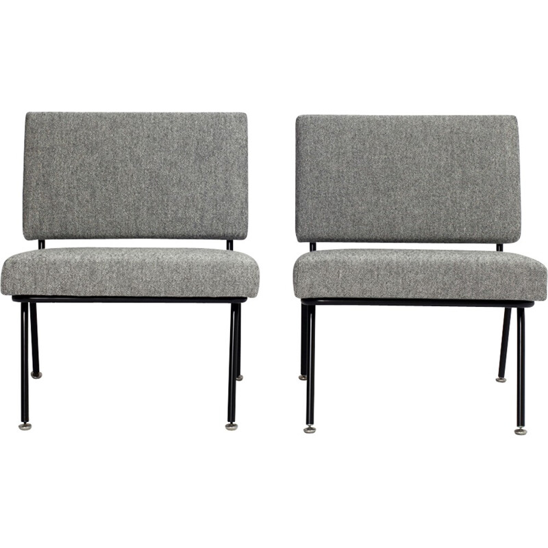 Set of 2 low chairs model 31 by Florence Knoll - 1950s