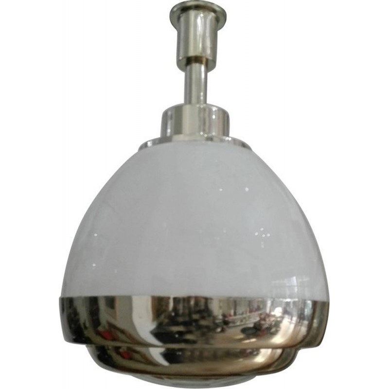 Vintage glass pendant lamp by Pia Guidetti Crippa for Lumi - 1960s