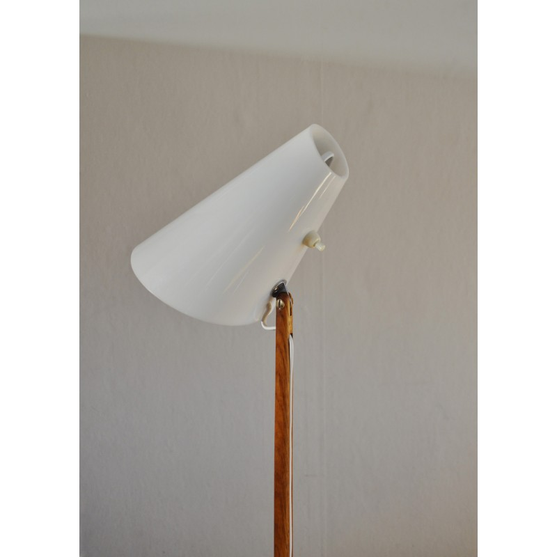 Vintage oak floor lamp by uno sten kristiansson for luxus 1960s previous aloadofball Image collections