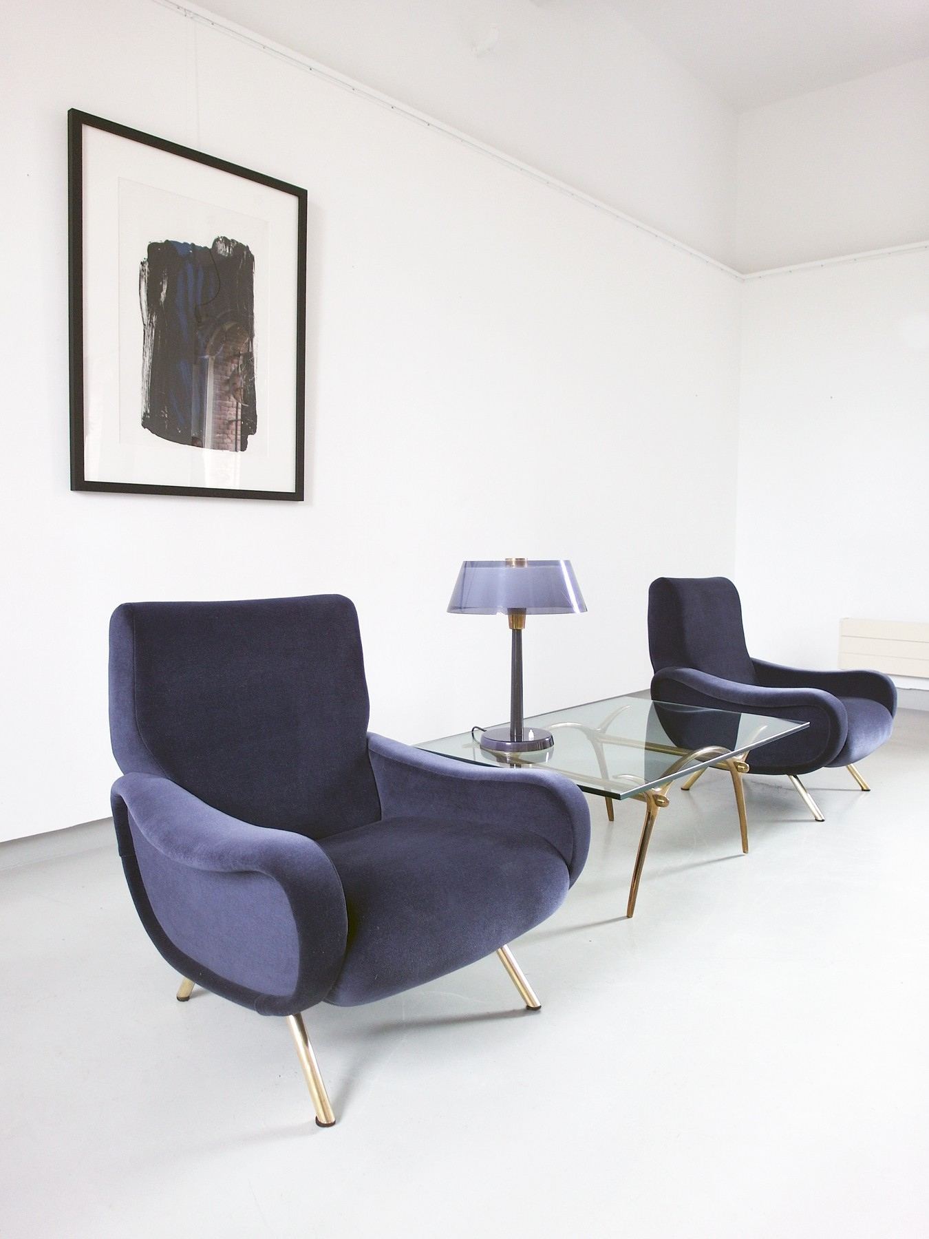 Pair Of Lady Chairs By Marco Zanuso For Arflex 1951