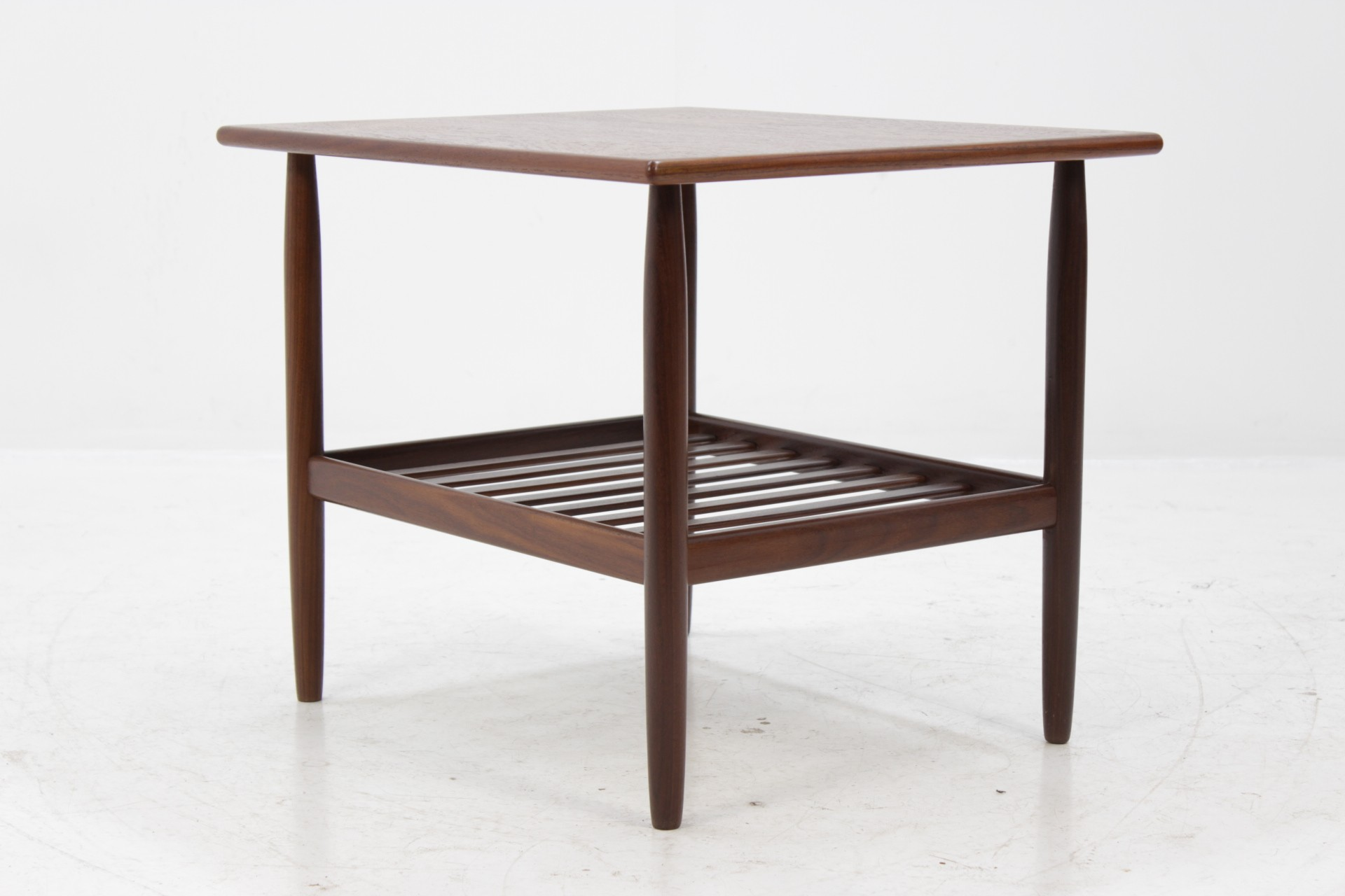 Vintage Danish Side Table In Teak   1960s. Previous Next